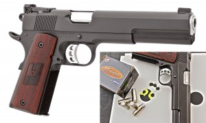 Tested with factory open sights to keep THINGS CONSISTENT, the G40 shot best with DoubleTap 200-gr.JHP.