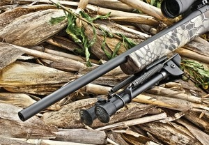 Howa gives you three different barrel options with Mini Action: a 20- inch lightweight contour (shown), 22-inch standard contour and 20-inch heavy contour.
