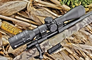 Our test rifle came shipp ed to us as the package option, wearing a 3-9x40 Nikko Sterling scope in a pair of aluminum rings and bases.