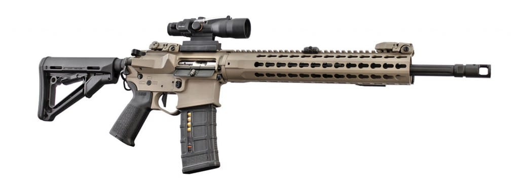 OPR-15 options include various color or camo-pattern cerakote finishes, keymod or M-LOK compatible forends, barrel pro files, muzzle devices (including suppr essors) and grip choices.