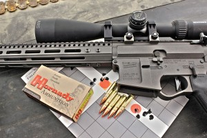 Using a nightforce 4-14 shv riflescope, and shooting hornady's supersonic 110-gr. V-Max ammunition, the OPR pro ved an extremely consistent 1-MOA performer at 100 yards.