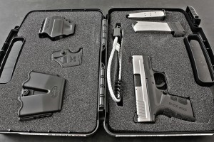 Like the rest of the XD/XDM/XDS lineup, the Mod2 ships as a package, with a paddle holster, dual mag pouch and mag loader.