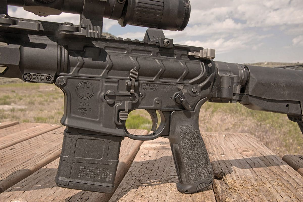 Primary Weapons Mod 2 Rifles Receivers Are Forged The Left Side Of Low Er Housing An Ambi Magazine Release