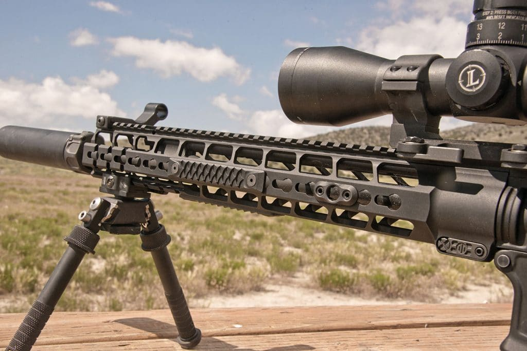 The highly-configurable Mod2 handguard, featuring Picmod technology, allows both Picatinny and Keymod interfaces.