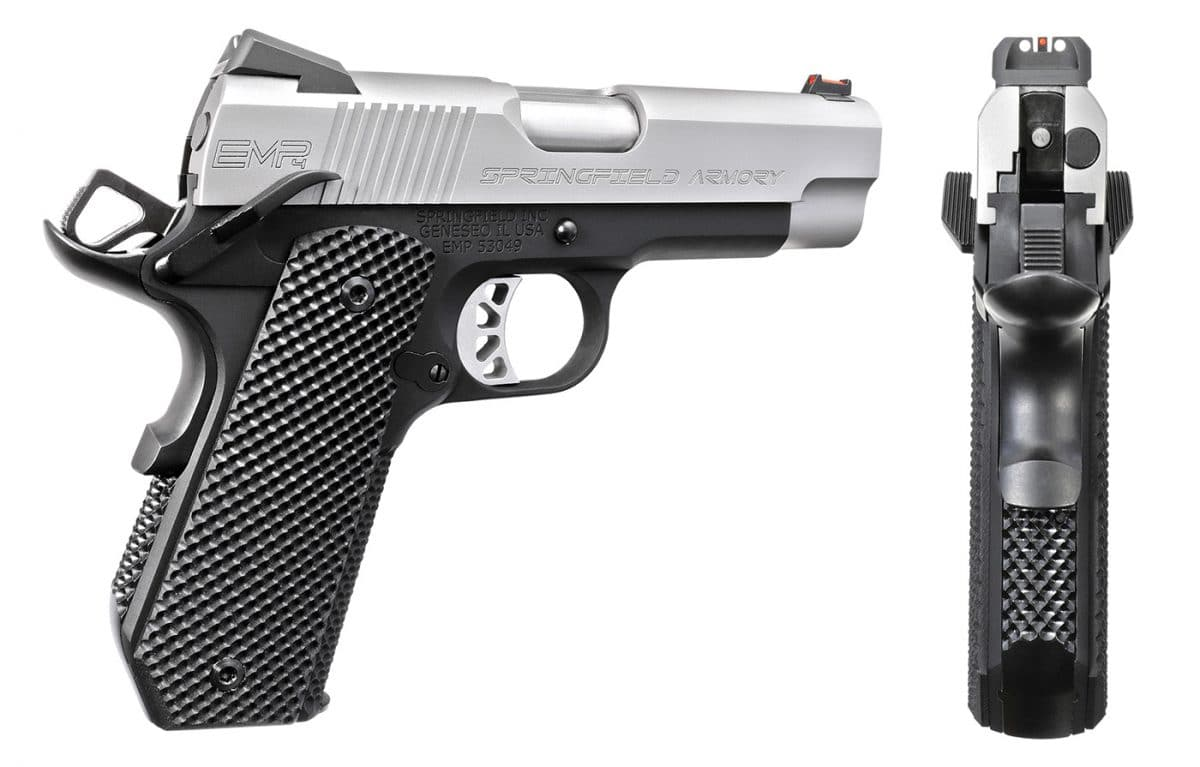 Springfield Armory EMP 4-inch Concealed Carry Contour 9mm ...